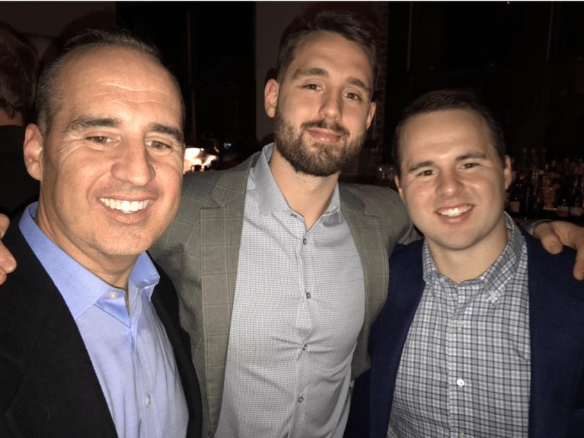 Kris, Parker, and Brayden